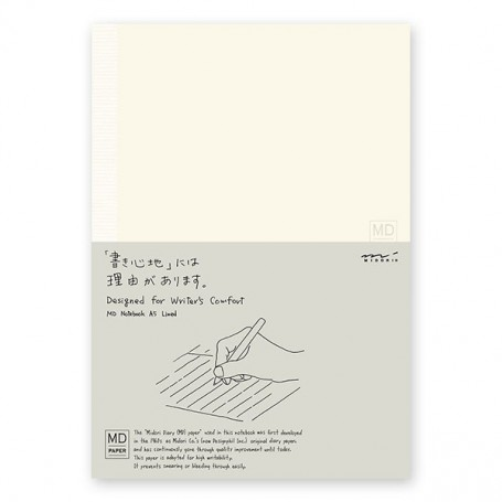 MD Notebook - A5, Ruled Paper