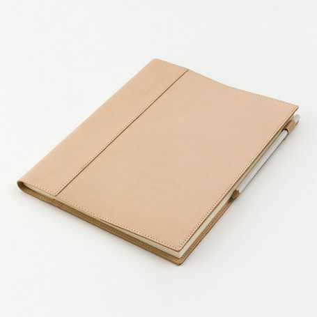 MD Notebook Leather Cover // A4