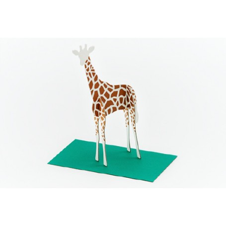 Good Morning // Post Animal Greeting Cards // Giraffe
