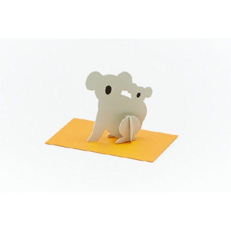 Good Morning // Post Animal Greeting Cards // Koala ***discontinued