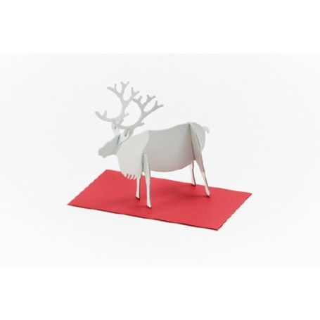 Good Morning // Post Animal Greeting Cards // Reindeer