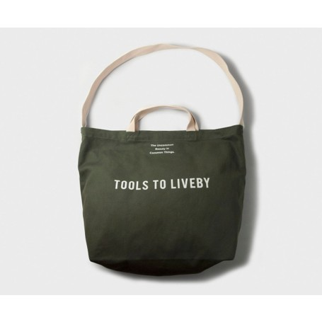Tools to Liveby Tote Bag / Green