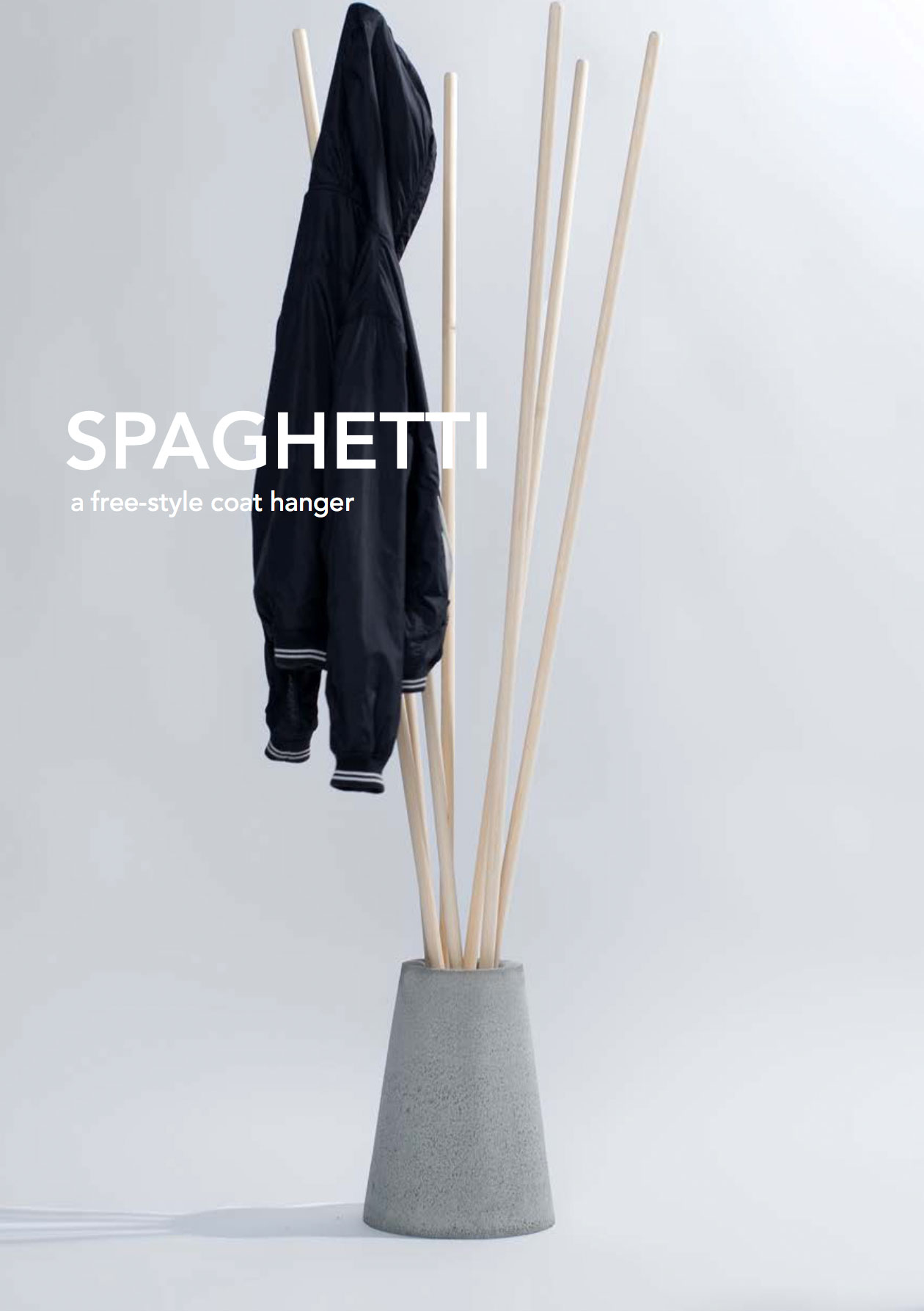 Spaghetti by Danzo is a freestyle coat hanger