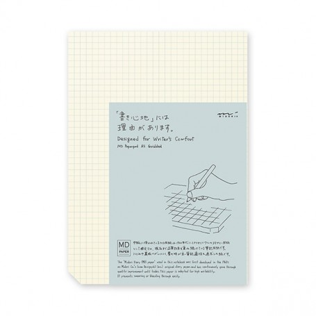 MD Paper Pad A4 / Grid / English Version