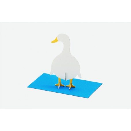 Good Morning // Post Animal Greeting Cards // Duck