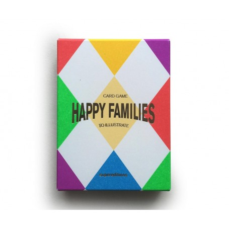Supereditions Happy Families Card Game