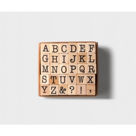 Tools to Live By / Capital Letters Alphabet Stamp Set